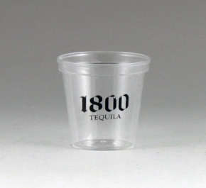 plastic shot glass