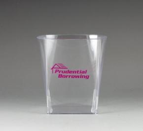 plastic sqtumbler glass
