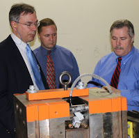 Congressman Andy Harris Tours Maryland Plastics, Inc.