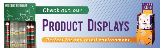 Want to See Our  16 New  Mass, Grocery,  And Drug Store Channel POP Display Units?