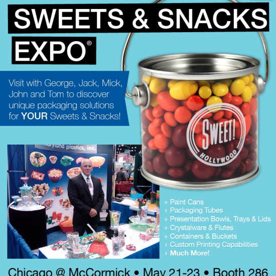Visit Us at the 2013 Sweets & Snacks Expo®!