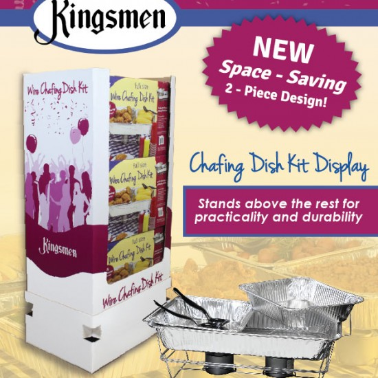 This Just In! Chafing Dish Kit Display