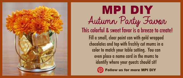 MPI DIY: Autumn Party Favor