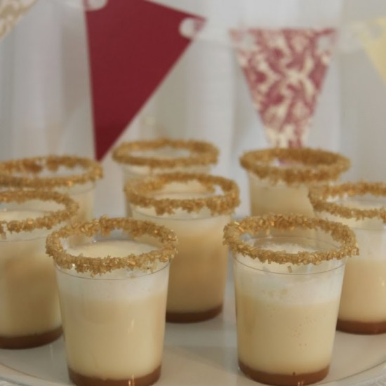 MPI DIY: Salted Caramel Ice Cream Shooters