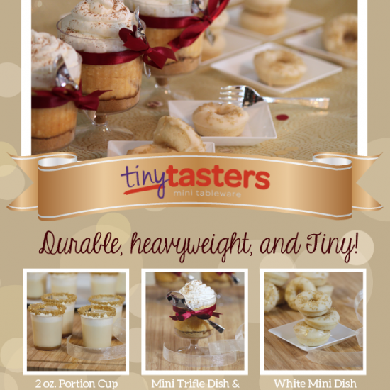 Make a Big Impact with Tiny Tasters