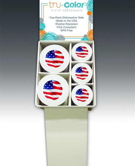 Tru-Color IML Plates - Patriotic Display