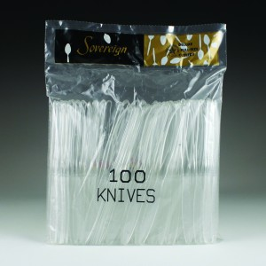 Sovereign Poly Bagged (100 Ct.) - Knives