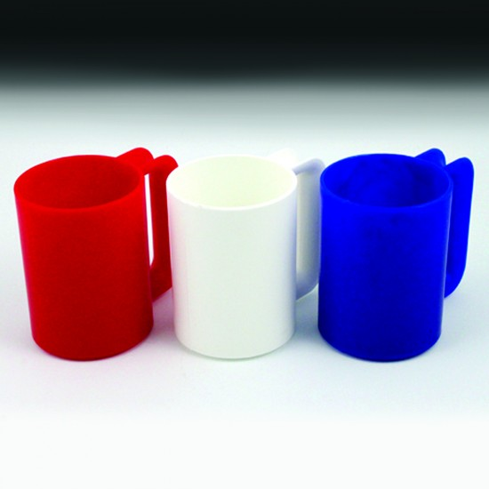 14 oz. Galaware Mug - Frosted Patriotic