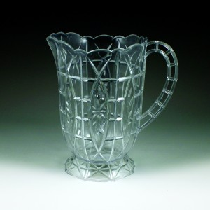64 oz. Crystalware Crystal Cut Pitcher Display