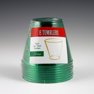 9 oz. Sovereign Tumbler - 36 Red / 12 Green