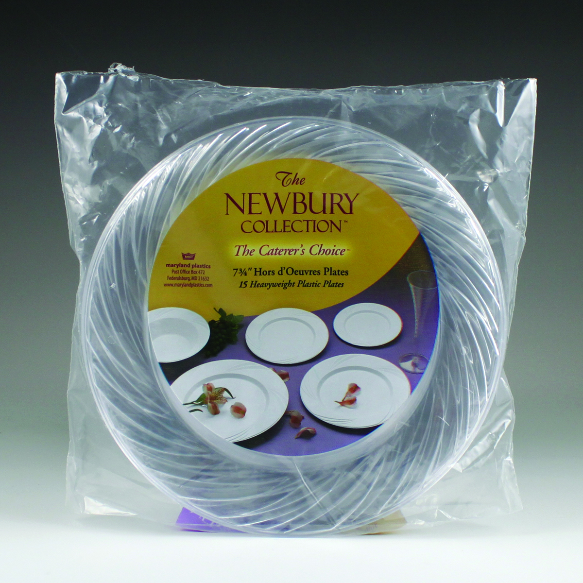 ... 7.75  Newbury Hors du0027Oeuvres Plate ... : disposable hors d oeuvres plates - pezcame.com