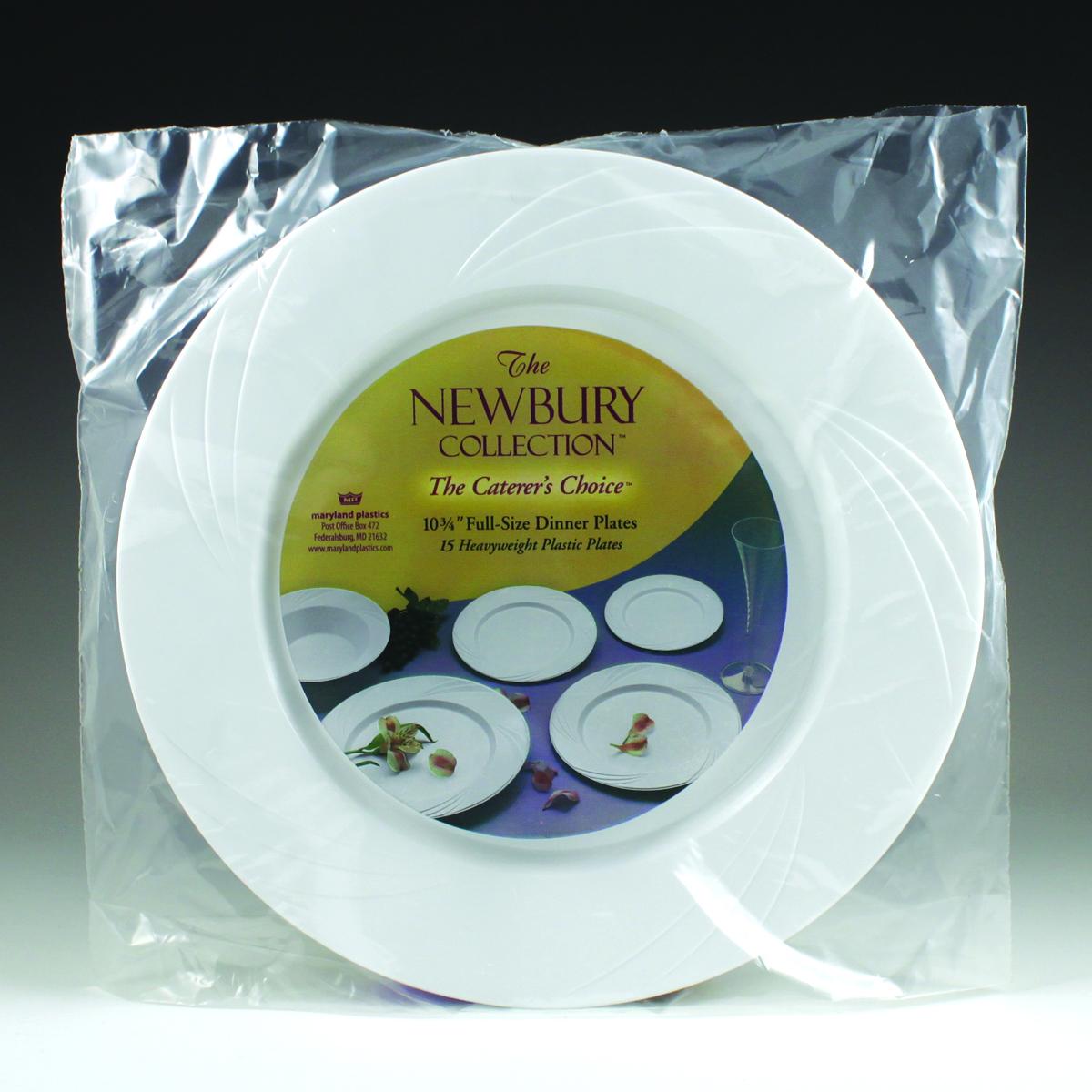 10.75\  Newbury Full Size Dinner Plate ...  sc 1 st  Maryland Plastics & 10.75\