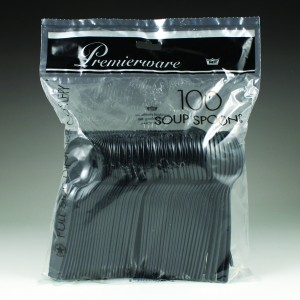 Premierware Poly Bagged (100 Ct.) - Soup Spoons