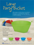 Party Bucket Sheet