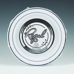 Regal Plates & Bowls Display