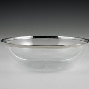 "5.5"" Regal Silver Edge Bowl"