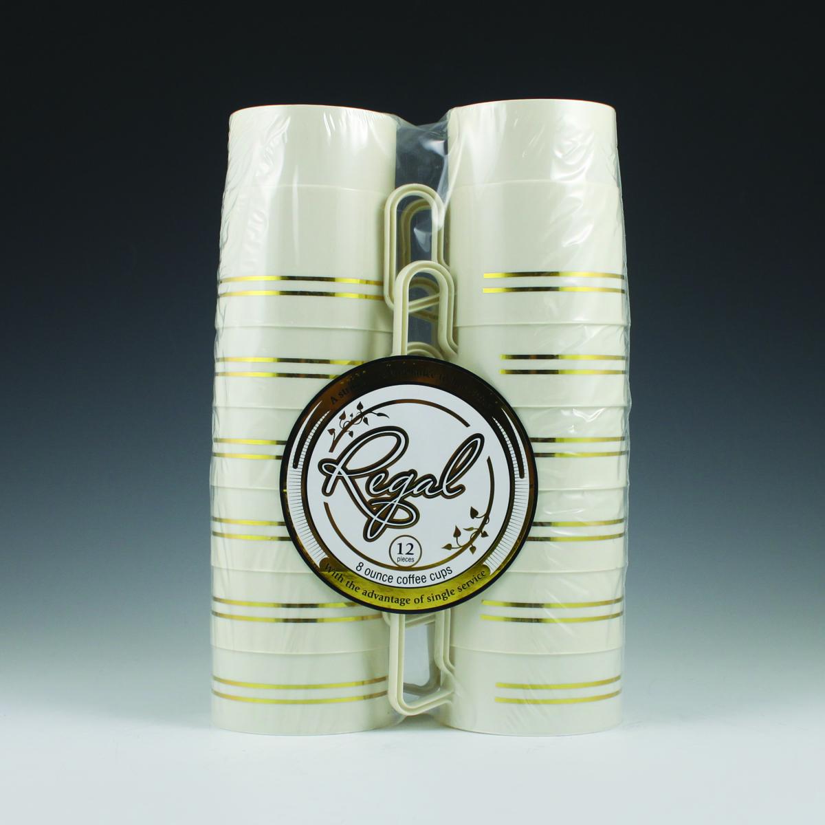 8 Oz Regal Coffee Cup Plastic Cups Utensils Bowls