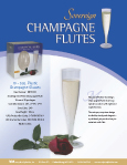 Champagne Flute Sheet
