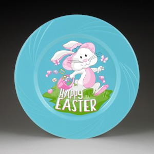 Tru-Color IML Plates - Happy Easter Display