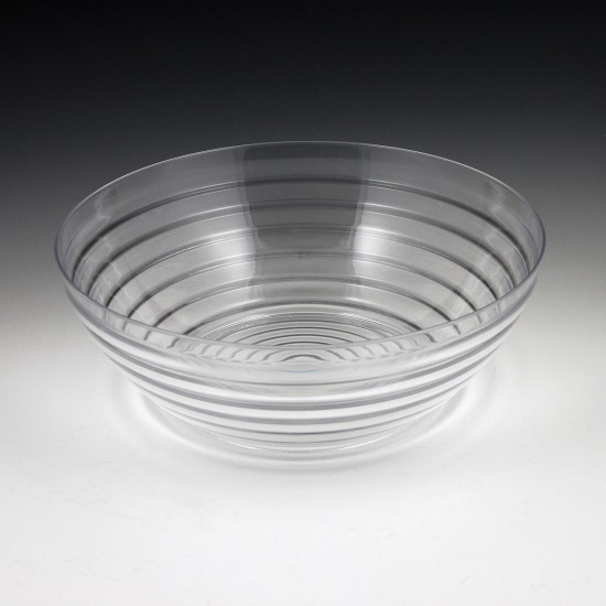 5 qt. Crystalware Ringed Bowl