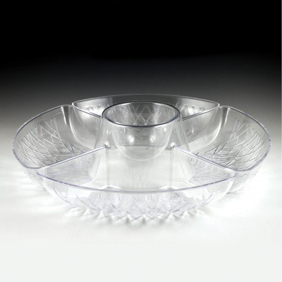 Crystalware Lazy Susan