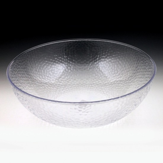 "18"" Crystalware Hammered Bowl"