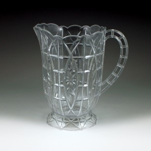 64 oz. Crystalware Crystal Cut Pitcher