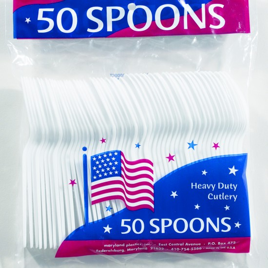 Kingsmen PS Poly Bagged (50 Ct.) - Spoons