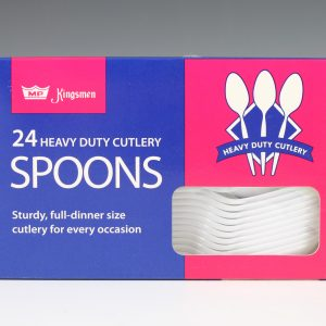 Kingsmen Box (24 Ct.) - Spoons