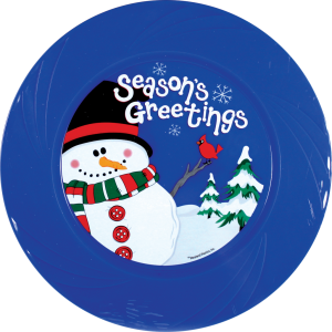 "9.5"" Tru-Color - Season's Greetings PDQ"