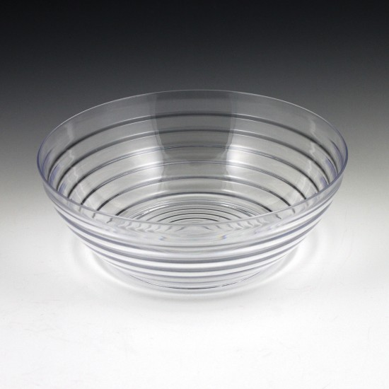 2.5 qt. Crystalware Ringed Bowl