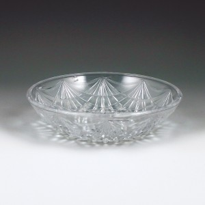 "6"" Crystalware Crystal Cut Round Bowl"
