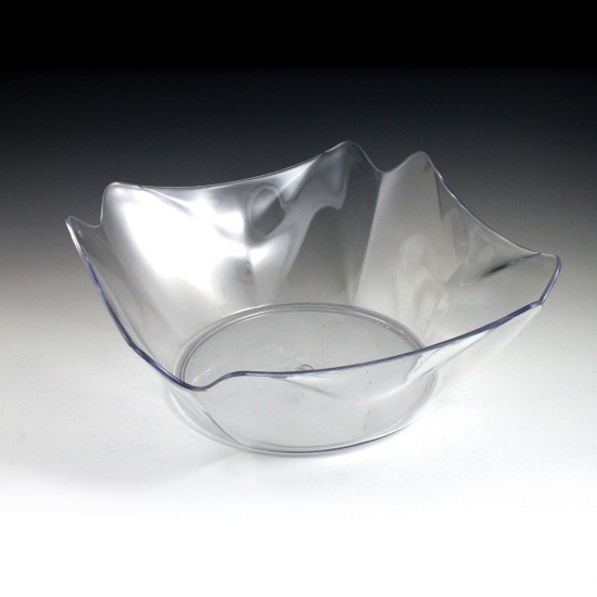 "12"" Crystalware Flower Bowl"