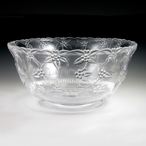 12 qt. Crystalware Large Punch Bowl