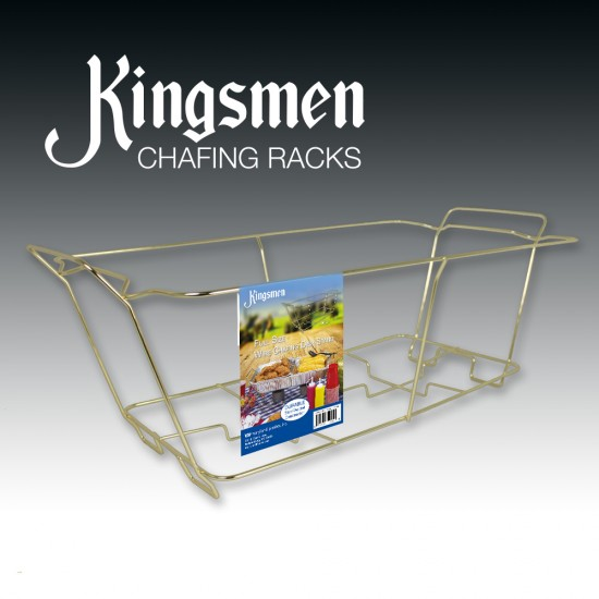 Kingsmen GOLD Chafing Rack are coming!